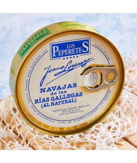 Navajas al Natural de las Rías Gallegas Los Peperetes