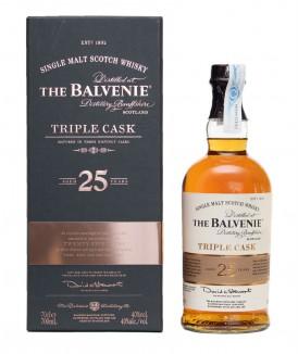 Balvenie 25 Años Triple Cask
