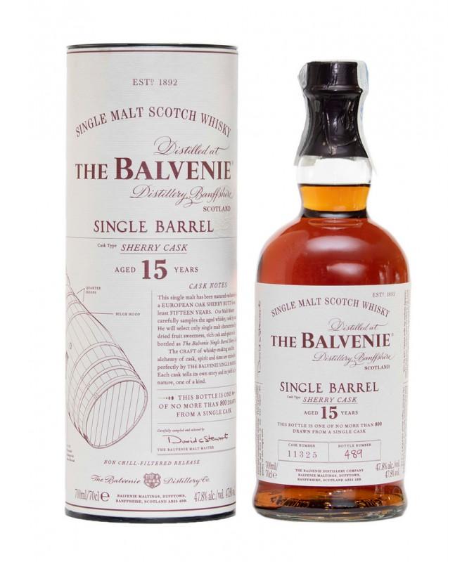 Balvenie 15 Años Single...
